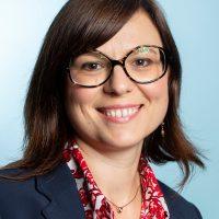 Katia Zitouni, participante au ?MBA organise par l'ESSEC dans leurs locaux du CNIT de La Defense.